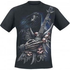 Spiral Rock On T-paita