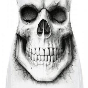 Spiral Solemn Skull Naisten Toppi