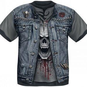 Spiral Thrash Metal T-paita