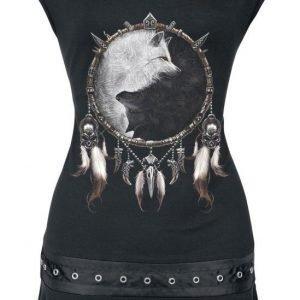 Spiral Wolf Chi Naisten T-paita