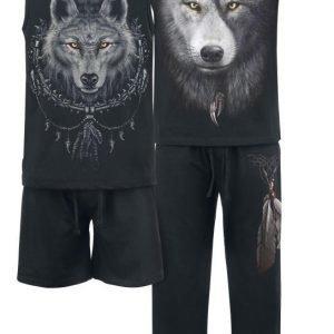 Spiral Wolf Chi Pyjama
