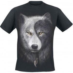Spiral Wolf Chi T-paita