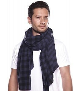 Square Scarf Navy