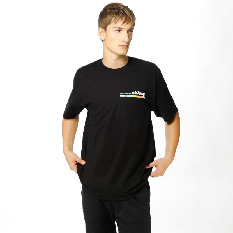 Stüssy Color Bar -t-paita
