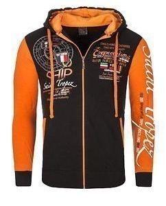 St.Tropez VO2 Hoodie Black/Orange