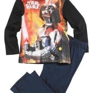 Star Wars Pyjama Musta Laivastonsininen