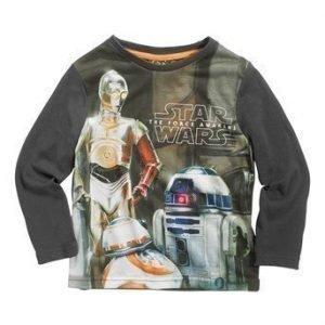 Star Wars T-paita Antrasiitinharmaa