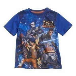Star Wars T-paita Laivastonsininen