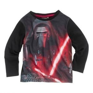 Star Wars T-paita Musta