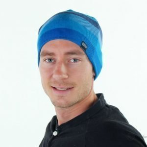 State Of Wow Beanie Stripe 30 Pipo Sininen
