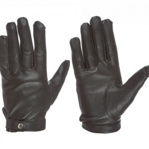 State Of Wow Jane Leather Glove Nahkahanskat Musta