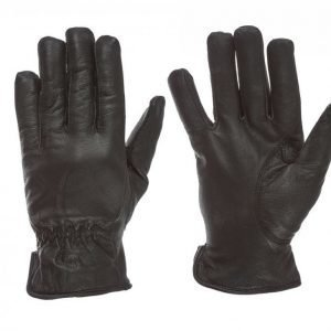 State Of Wow Liam Leather Gloves Hanskat Musta