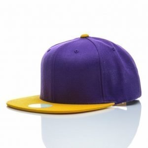 State Of Wow Snap Back Two Tones Lippis Lila / Keltainen / Valkoinen