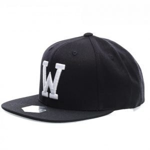 State Of Wow Whiskey Snapback Lippis Musta