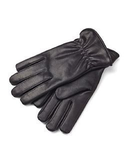 State of WOW Liam Leather Gloves Black