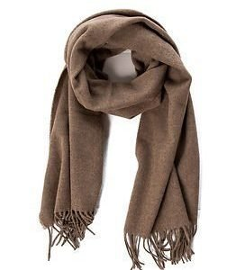 State of WOW Prato Wool Scarf Light Brown