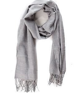 State of WOW Reno Scarf Light Grey Melange