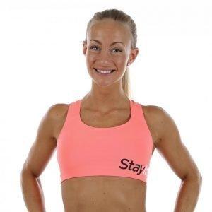 Stay In Place Active Sports Bra A/B Urheiluliivit Oranssi