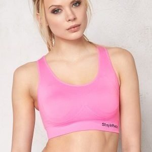 Stay In Place Rib Seamless Bra A44 Bright Rose