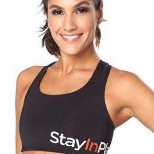 Stay in Place Urheiluliivit Active sports bra Musta