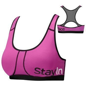 StayInPlace Power Bra A/B Shrimp Pink