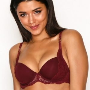 Stella Mccartney Lingerie Smooth And Lace Contour Bra Rintaliivit Punainen