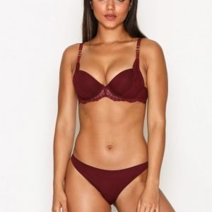 Stella Mccartney Lingerie Smooth & Lace Brief Alushousut Punainen