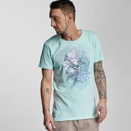 Stitch & Soul T-paita Turkoosi