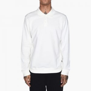 Stussy Heavy Pique Long Sleeve Polo