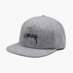 Stussy Smooth Stock Melton Strapback
