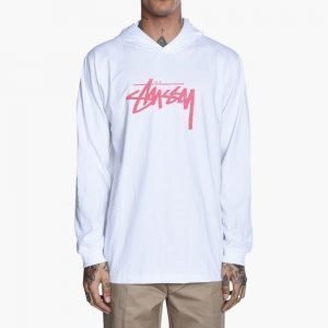 Stussy Stock Stamp Hooded Tee