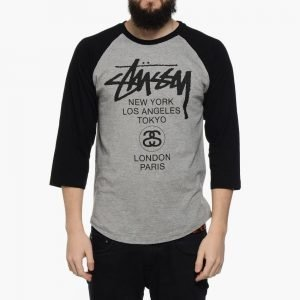 Stussy World Tour Raglan