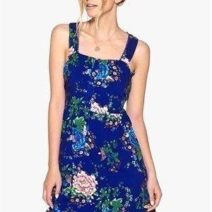 Style London Open Back Dress Blue