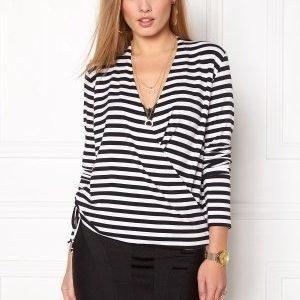 Stylein Croydon Top Striped white