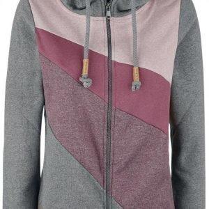 Sublevel Ladies Contrast Colour Hoody Jacket Naisten Vetoketjuhuppari