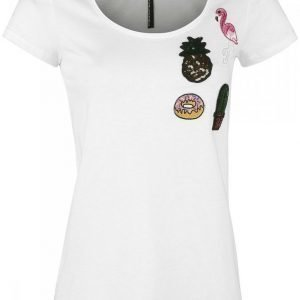 Sublevel Ladies Patched Shirt Naisten T-paita