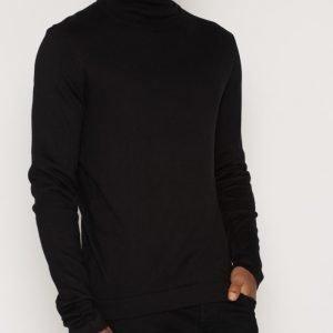 Suit Icon-Rollneck LS Pusero Black