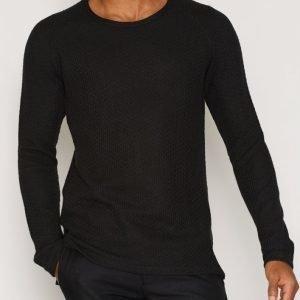 Suit Nut Sweatshirt LS Pusero Black