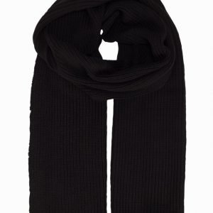 Suit Tim K-Scarf Kaulahuivi Black