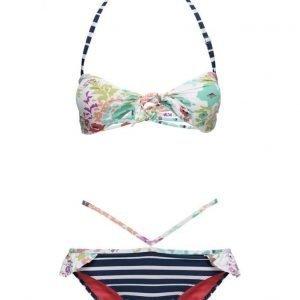 Sunseeker Knottop Cutout Pant Bikini Set bikinisetti