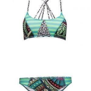 Sunseeker Seekers Crop Top Bikin Set bikinit
