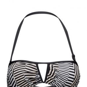 Sunseeker V-Front Bandeau Top With Removable Straps bikinit