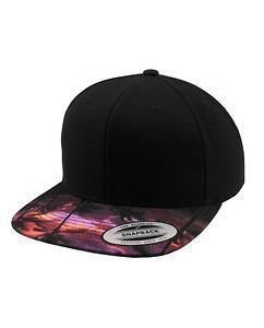 Sunset Peak Snapback Black