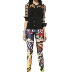 Super Mario Cartoon Leggings Tights