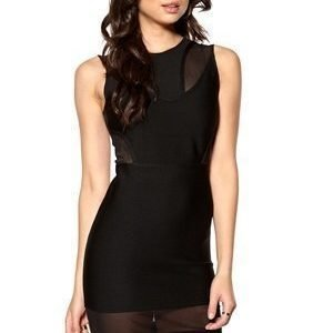 SuperTrash Delecia Dress 001 Musta