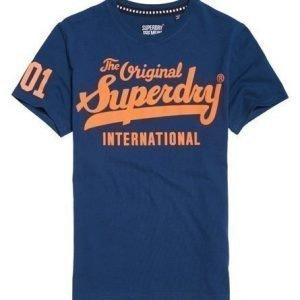 Superdry 100 Club T-paita Sininen