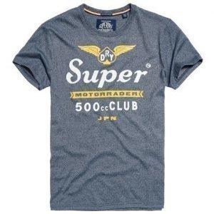 Superdry 500 Club Motorrader T-paita Laivastonsininen