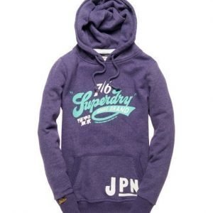 Superdry 76 Loop Huppari Purppura