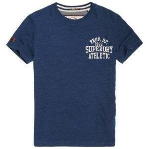 Superdry Applikoitu T-paita Laivastonsininen