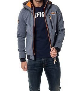 Superdry Ascent Ziphood Total Eclipse Marl